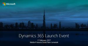 Dynamics 365 Dubai Launch event