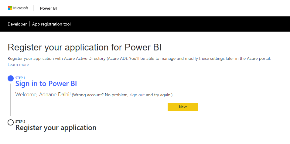 Connecting Power BI with Dynamics 365 For Finance and